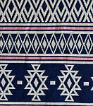 Doodles Collection - Majestic Jacquard Aztec Multi Blue