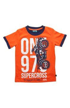 Fede Me Too T-shirt Cimmi Orange Me Too T-shirt til Børn & teenager i behageligt materiale