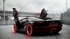 Tron Lambroghini.com | Red Tron Style Lamborghini by ~ StatikGraphic