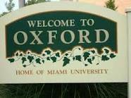 Oxford Ohio...  Home of Miami University  (It's so pretty here!!)