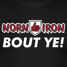 "Norn Iron. Bout Ye! –A selection of designs celebrating ""Norn Iron"" [Northeren Ireland, Ulster] and featuring the Red Hand of Ulster in a variety of cheeky poses"