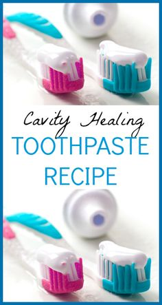 Cut to the chase - Homemade Toothpaste Recipe 2 Tbsp. xylitol or green stevia powder 2 tsp. real sea salt 20 drops essential oil (I use peppermint) 10 drops trace minerals Natural Home Remedies, Natural Healing, Herbal Remedies, Health Remedies, Toothpaste Recipe, Homemade Toothpaste, Teeth Health, Dental Health, Oral Health