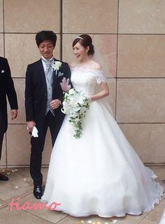 美人花嫁さまの洋装&和装スタイル♡素敵な一日 の画像|大人可愛いブライダルヘアメイク 『tiamo』 の結婚カタログ