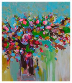 Buy spring flowers, a Acrylic on Canvas by khanh the bui from Vietnam. It portrays: Still Life, relevant to: spring flower, still life flower, flower painting, green, pink/green The new day is great.The flowers of spring The new day is great.The flowers of spring The new day is great.The flowers of spring