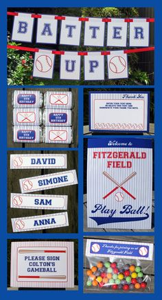 Baseball Party Invitation & Printable Sport Party by SIMONEmadeit, $14.95