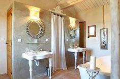 salle de bains imbriquée