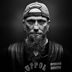 Bikers – Portraits of Hells Angels by Nicolas Auproux