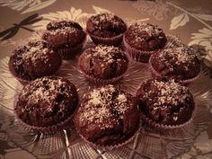 Dark Muffin with coconut