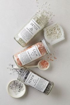 Salt Infused Favors / Beach Wedding Favors