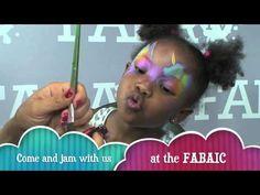 Princess Unicorn Face Painting Tutorial - YouTube