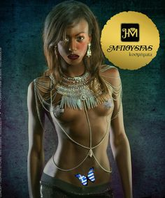 Mpousias jewelry by Cathy Caparis & Ilias Mpousias