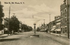Vintage Picture of Mount Morris, NY