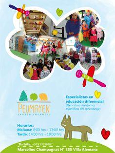 Flyer, jardín infantil