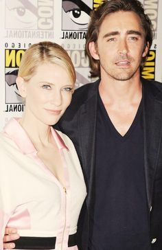 Cate Blanchett and Lee Pace