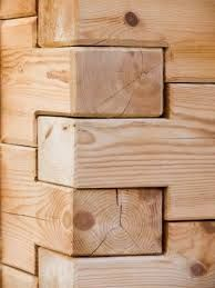 Image result for how to cut interlocking logs