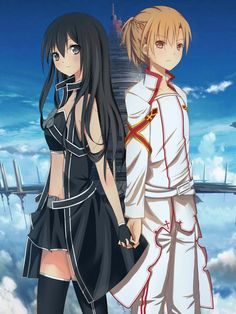 THAT LOOKS SOOOOO COOL!!!!!! I WOULD TOTALLY MAKE A REMAKE MANGA FOR THOSE TWO CHARACTER DESIGNS. SAO genderbender *perfect