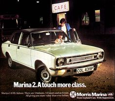 Morris 1976 Coventry, Shanghai, Morris Marina, Austin Cars, Top Cars, Commercial Vehicle, The Good Old Days, Motor Car, Ads