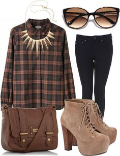 """""""is fall here yet?"""" by restkiki ❤ liked on Polyvore"""
