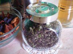 Ферментированный чай из зелени и трав (фото инструкция)