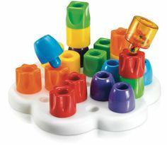 Quercetti 4160 - Daisy Maxi Gioco Educativo di Composizione con Chiodoni: Amazon.it: Giochi e giocattoli 18 EURO