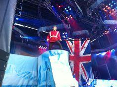 06/2014 I helped set up the lights for Iron Maiden at the main stage at Copenhell.