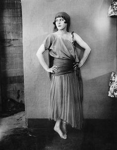 Alla Nazimova - early feminist and famous lesbian.