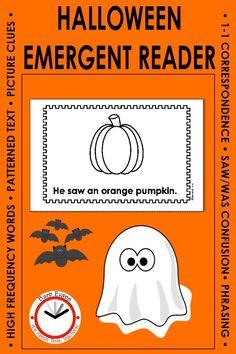 Classroom Halloween Party, Halloween Activities, Teaching First Grade, First Grade Reading, Kindergarten Literacy, Early Literacy, Classroom Resources, Teacher Resources, Teaching Activities