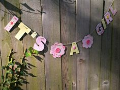 Lots of super cute garlands at this etsy shop!
