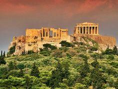 Athen, Hellas. Akropolis