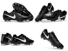 d54098aec0c16 New Nike Tiempo Legend VII FG Kangaroo Boots - Black White