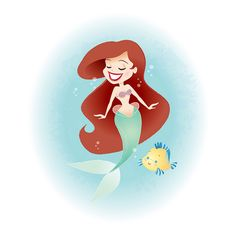 Ariel and Flounder by Jerrod Maruyama, via Flickr