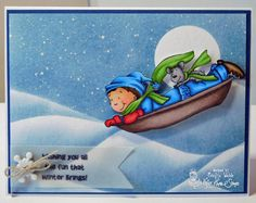 Welcome back to Day THREE of our October Krafty Peeks at Kraftin' Kimmie Stamps ! We're back with another day of fabulous prev. Create Christmas Cards, Cool Backgrounds, Winter Fun, Copic, 4x4, Disney Characters, Artist, Cute, Stamps