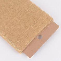 Tulle Fabric - Gold - Premium Glitter Tulle Fabric