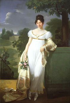 1808 Félicité-Louise-Julie-Constance de Durfort, Maréchale de Beurnonville by Merry-Joseph Blondel (auctioned)