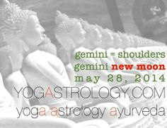 """REINVENT YOURSELF ;; Gemini New Moon, Wednesday, May 28, 2014, 11:40 AM PDT  """"Courses, learning, reading, travel, teaching, correspondence... what refreshes you? At this New Moon we are given the missive to reinvent...our life in a new way…if we follow our curiosity, if we do what has heart, we will learn along the way."""" Jessica at Moonkissd Astrology. Learn more about NEW MOON YOGA HERE > http://yogastrology.com"""