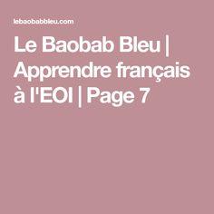 Le Baobab Bleu | Apprendre français à l'EOI | Page 7