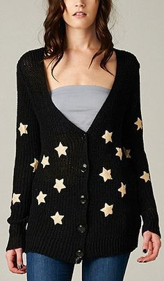 Knit night Wish Cardigan, like the cardigan, dislike everything else