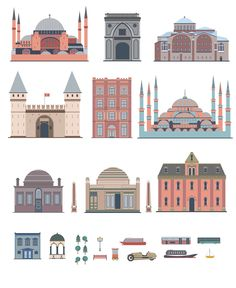 Istanbul map on Behance