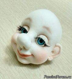 Как сделать красивую кукольную голову. - запись пользователя Людмила (Лушкаревич Людмила) в сообществе Мир игрушки в категории Разнообразные игрушки ручной работы