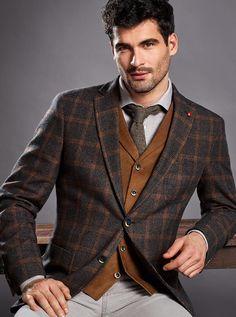Tuxedo For Men, Dapper Men, Suit And Tie, Fashion Suits, Mens Fashion, Suit Jacket, Blazer, Jackets, Atelier