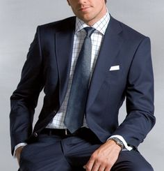 Suits: A patterned shirt is a nice touch and alternative to a plain white shirt.