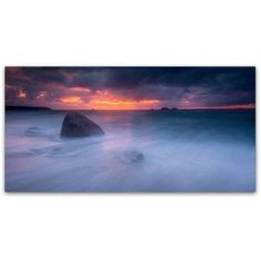 Trademark Fine Art Colorful Apocalypse Canvas Art by Mathieu Rivrin, Size: 12 x 24, Multicolor