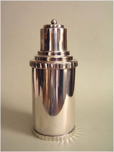 Cocktail shaker Pinned by www.silver-and-grey.com