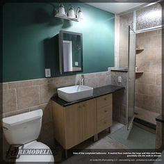 Teal Bathroom 2