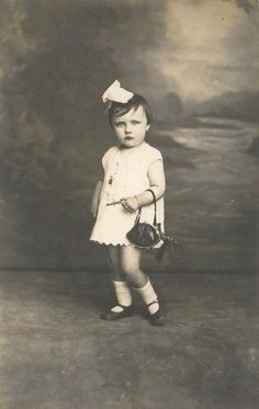 French girl from the 1920s. What sass.