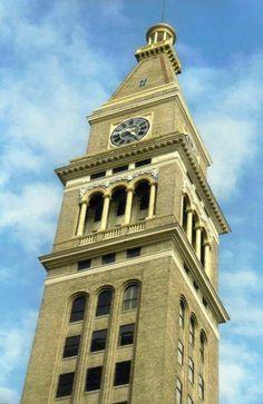 Unusual Clocks, Antique Clocks, Telling Time, Denver Colorado, Beautiful Buildings, Art And Architecture, Garden Furniture, Castle, Tower