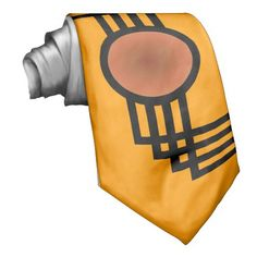 A Nod to Art Deco Neckwear