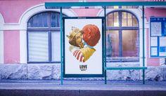 El Rey de Burger King besa a Ronald McDonald's en peculiar campaña - Helsinki Pride Helsinki, Creative Advertising, Print Advertising, Mcdonalds, Ronald Mcdonald, Burger King, Pride Week, Love Always Wins, Love Conquers All