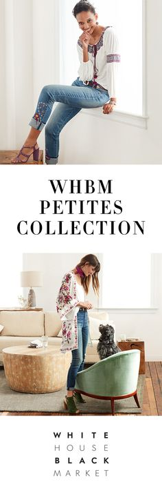The Petites Collection at White House Black Market is proportioned to fit you perfectly. We offer the latest trends tailored for you—from perfectly proportioned dresses that move effortlessly from summer into fall, to shirts, pants, skirts and more crafted specifically for petite proportions. Better yet—US residents always receive Free Shipping and Returns on their petites orders.  | White House Black Market