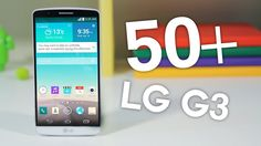 50+ Tips & Tricks for the LG G3! These are 50+ Tips and Tricks for the LG G3. From nifty software tips to intuitive button clicks, this is how you can make y...